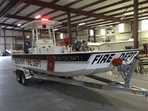 kencraft fire boat